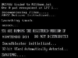 Download MS-DOS Skin for M3 DS Real | GBAtemp net - The